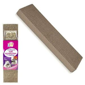 Cat-Kitten-Cardboard-Corrugated-Scratcher-Scratching-Pad-Board-Mat-With-Cat-Nip
