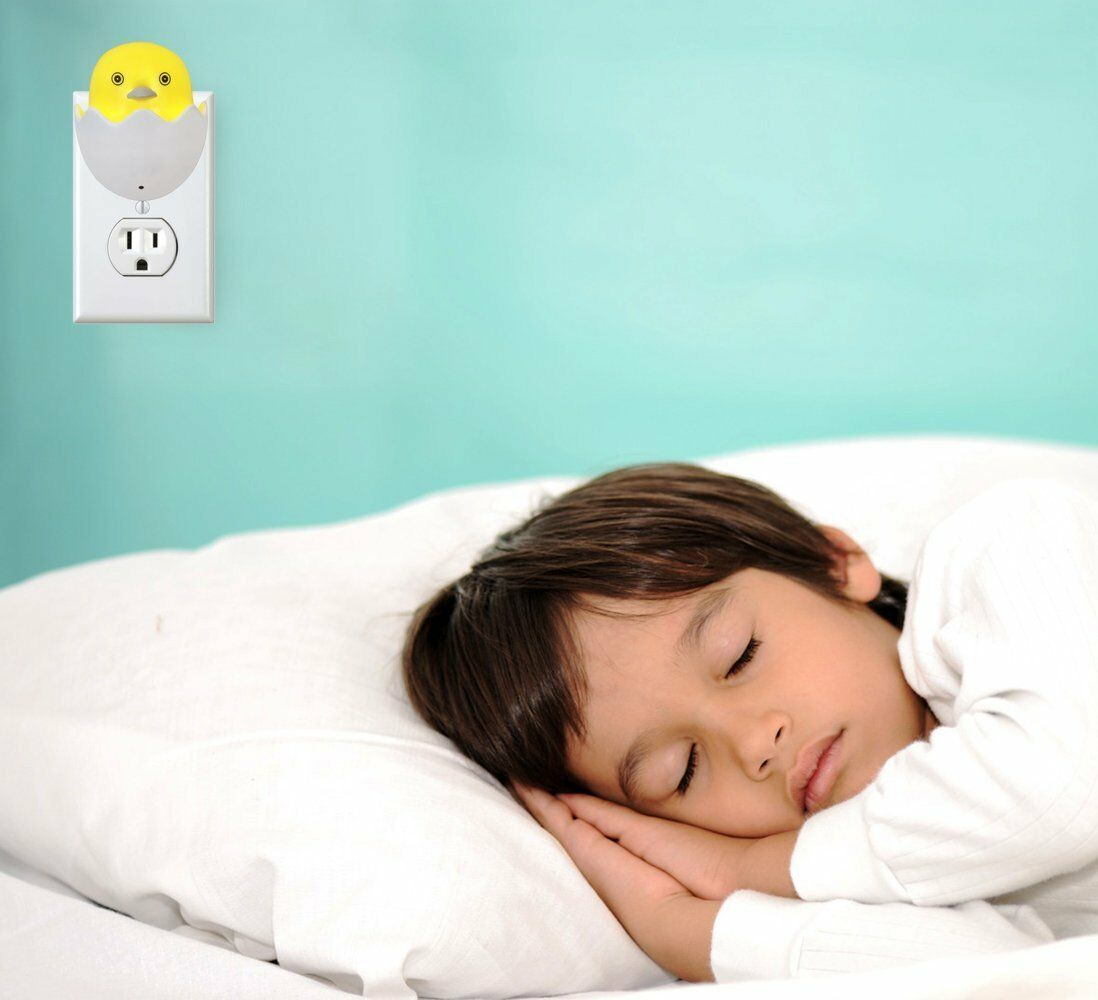 Little Chick Night Sweet Light Auto Sensor Nursery Bedroom Bathroom Hallway 2pk