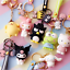 7PC-Hello-Kitty-My-Melody-Cinnamoroll-Pudding-Dog-Frog-Car-Bag-Key-Chain-Keyring thumbnail 1