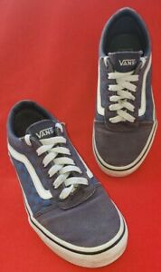Vans Lace-up Sneaker Youth Size 3Y Blue
