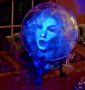 Madam-Leota-talking-head-Haunted-Mansion-Custom-Prop-w-projector-Disneyland-d23