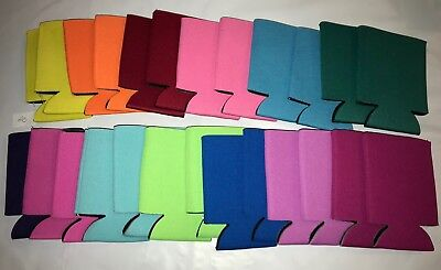 Mixed Huggie Can Cooler Coozie Koozie Blank Lot 50  Summer Fun Party Free Ship
