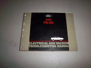 1995 Ford Bronco Electrical Vacuum Shop Service Repair Manual Factory OEM EVTM