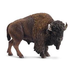 SCHLEICH-14714-Bisonte-10cm-SERIE-ANIMALES-SALVAJES