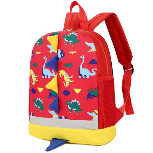 Kids Boys Girls Kindergarten School Bag Preschool Backpack Cute Cartoon Rucksack