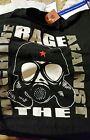 RAGE AGAINST THE MACHINE T SHIRT GAS MASK NR