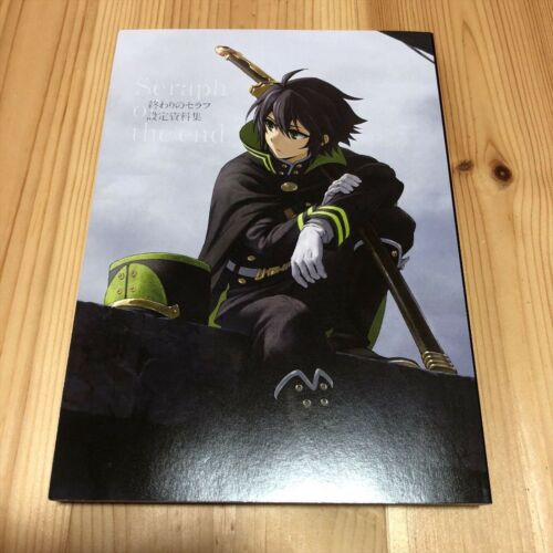 Art Book Seraph of the End Owari no Seraph Settei Shiryoushuu from Japan F//S
