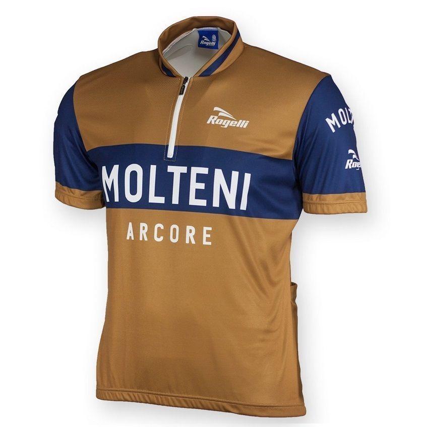 MOLTENI ARCORE RETRO VINTAGE CYCLING BIKE JERSEY by ROGELLI