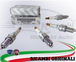 Set 1 pezzo 55188857 Candela accensione Originale Fiat