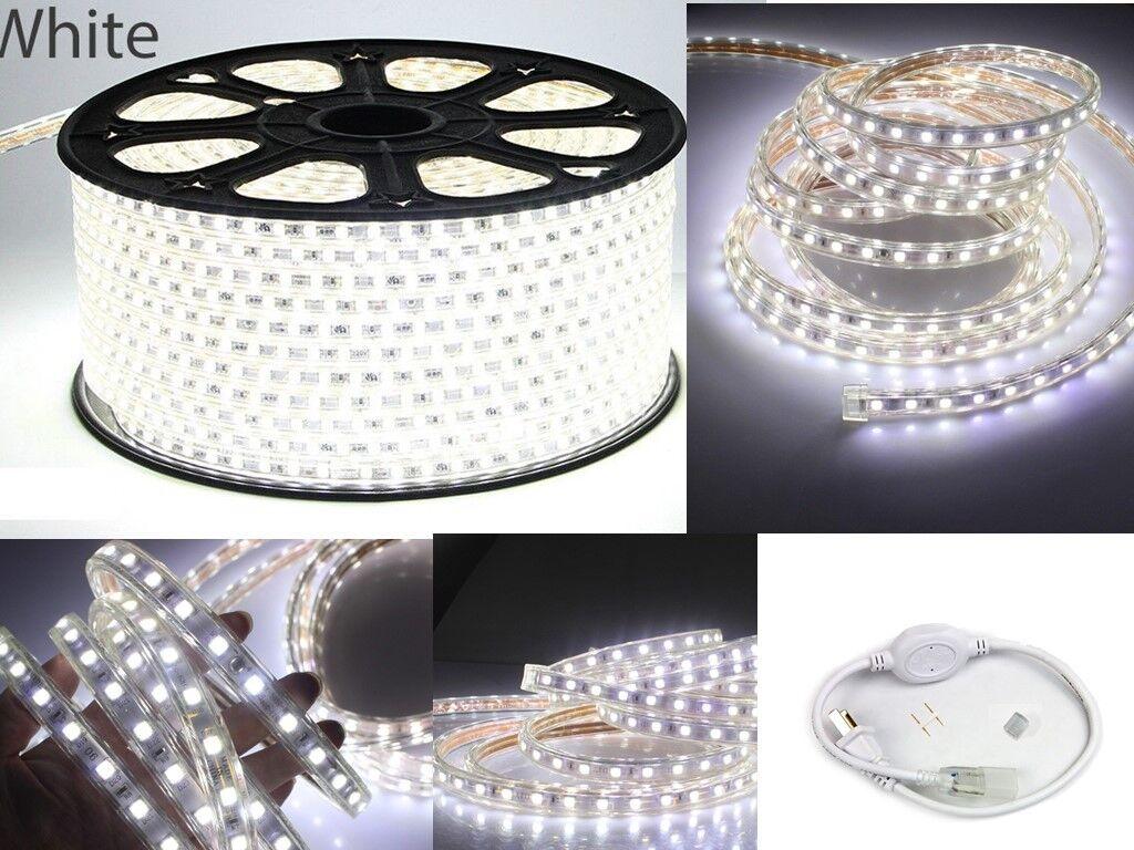 blancoo 5050 SMD 60 Tira de Luz LED En Exterior Hágalo usted mismo longitud 10' -150' KTV habitación de hotel