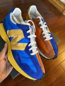 New-Balance-327-MS327LAA-Blue-Orange-Yellow-Size-11-Confirmed-100-AUTHENTIC
