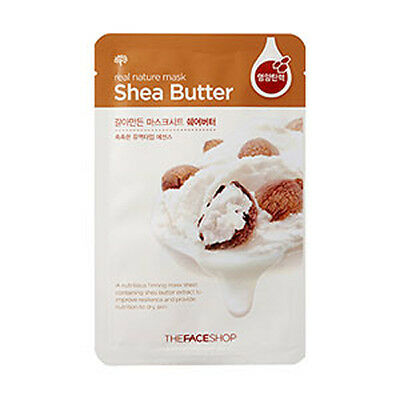 [The Face shop] Real Nature Mask Shea Butter 23g