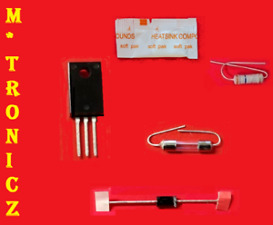 Details about SAMSUNG UN40ES6100F POWER SUPPLY BN44-00502A REPAIR KIT BLOWN  FUSE