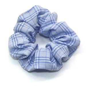 Sweet-Plaid-Hair-Ring-Elastic-Rubber-Bands-Scrunchie-Makeup-Yoga-Hair-Accessory