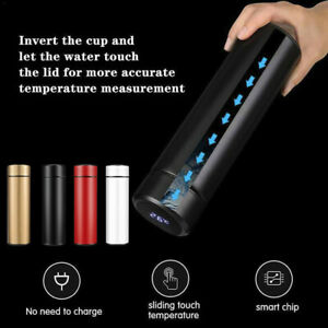 500ml-Vacuum-LCD-Temperature-Display-Water-Bottle-Stainless-Steel-Double-Wall