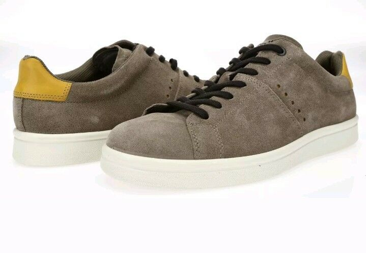 New ECCO Mens Kallum Casual Fashion Sneaker Espresso Oak EU 46 US 12-12.5 M  160
