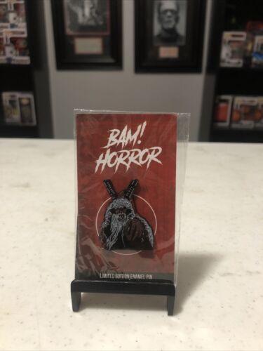 Bam Box Horror exclusive Enamel Hat Pin Krampus