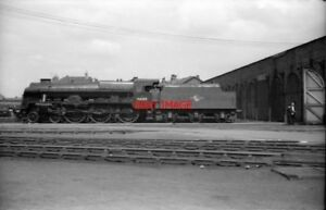PHOTO-ROYAL-SCOT-4-6-0-46100-039-ROYAL-SCOT-039-CREWE-WORKS-JULY-AUGUST-1958-THE-DOYE