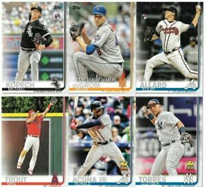 2019-Topps-Series-1-Baseball-You-Pick-Choose-Cards-1-100-Free-Shipping