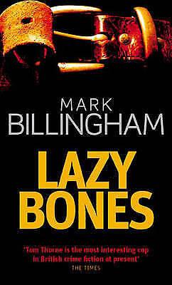 Lazybones (Tom Thorne Novels) by Mark Billingham, Paperback Book, Good, FREE & F