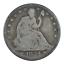 thumbnail 1 - 1854 Seated Liberty Half Dollar Arrows Very Good Condition