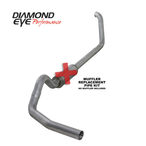 1999-03 Ford F250//350 Diesel 7.3  4 in Turbo Back Exhaust without a muffler