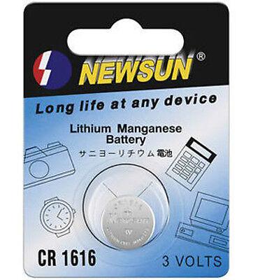 Aus Dem Ausland Importiert Knopfzellen Set Lithium (3 Volt) 2 Stück Auf Blisterkarte Cr 1616