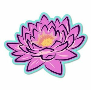 Image Is Loading Lotus Flower Pink Beautiful Color Car Vinyl Sticker