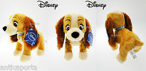 Peluche-Belle-et-le-Clochard-Mesure-25-cm-Original-Disney-Animal-Friends-Biagio