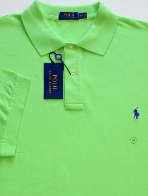 63ddda659 New $98 Polo Ralph Lauren Florida Green Cotton Mesh Polo Shirt / BIG 3X