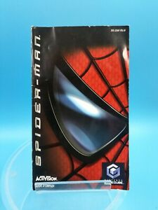 jeu-video-notice-BE-nintendo-gamecube-FRA-spider-man