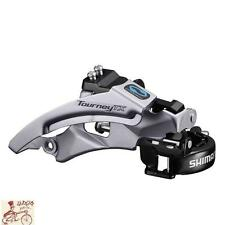 Shimano Tourney Tx800 7/8-speed Triple Top Swing Dual Pull Front Derailleur