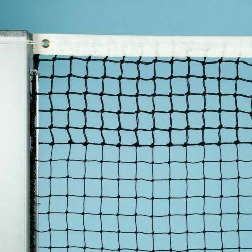 Tennisnetz Davis Cup TG 2,2 mm Polyethylen Tennisplatzbedarf schwarz