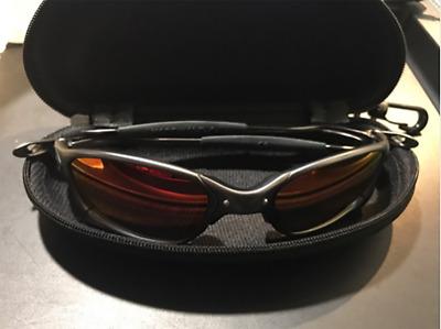 2020 X-Metal Juliet Cyclops Sunglasses Ruby Polarized Lenses TITANIUM Goggles
