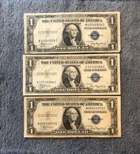 ✯1935 A Single Dollar Note ✯ $1 Silver Certificate G-AU ✯ Bill Blue US Currency✯