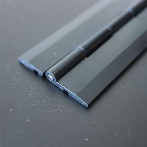 Acryl-Scharnier-300mm-SCHWARZ-Scharniere-Bestaendige-Acryl-Kunststoff