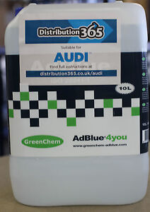 AdBlue-10L-FREE-Spout-10Ltr-For-Audi-AdBlue-Diesel-Engines-10-Litre