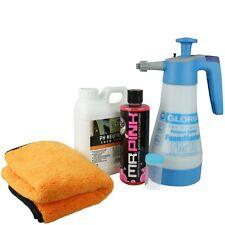 Gloria Foam Master FM10 +Chemical Guys Mr Pink +ValetPRO neutral Snow Shampoo