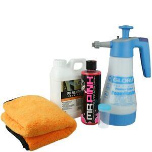gloria foam master fm10 chemical guys mr pink valetpro. Black Bedroom Furniture Sets. Home Design Ideas