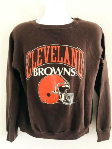 VINTAGE CHAMPION 50/50 USA CLEVELAND BROWNS LONG S