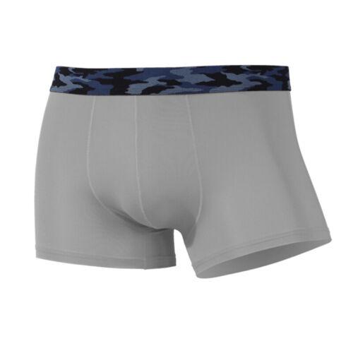 New Breathable Ice Silk Underwear Innerwear Thin Section Transparent Boxer Sex M