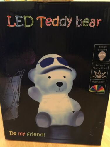 BABY KIDS MOOD NIGHT LIGHT LED CHANGEABLE RAINBOW COLOURS RECHARGEABLE BATTERY