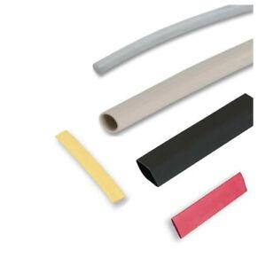 1.6mm x 1m Black Heat Shrink Sleeving Heatshrink Tubing 1st CLASS POST