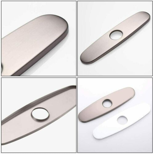 Cover Deck Plate Escutcheon for Bathroom or Kitchen Sink Faucet Mixer Tap