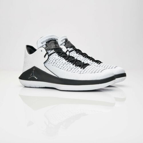 Black It' Air Silver Xxxii Uk 'ala Eu50 5 Nike Low White Metallic 15 Jordan gOqawaCp