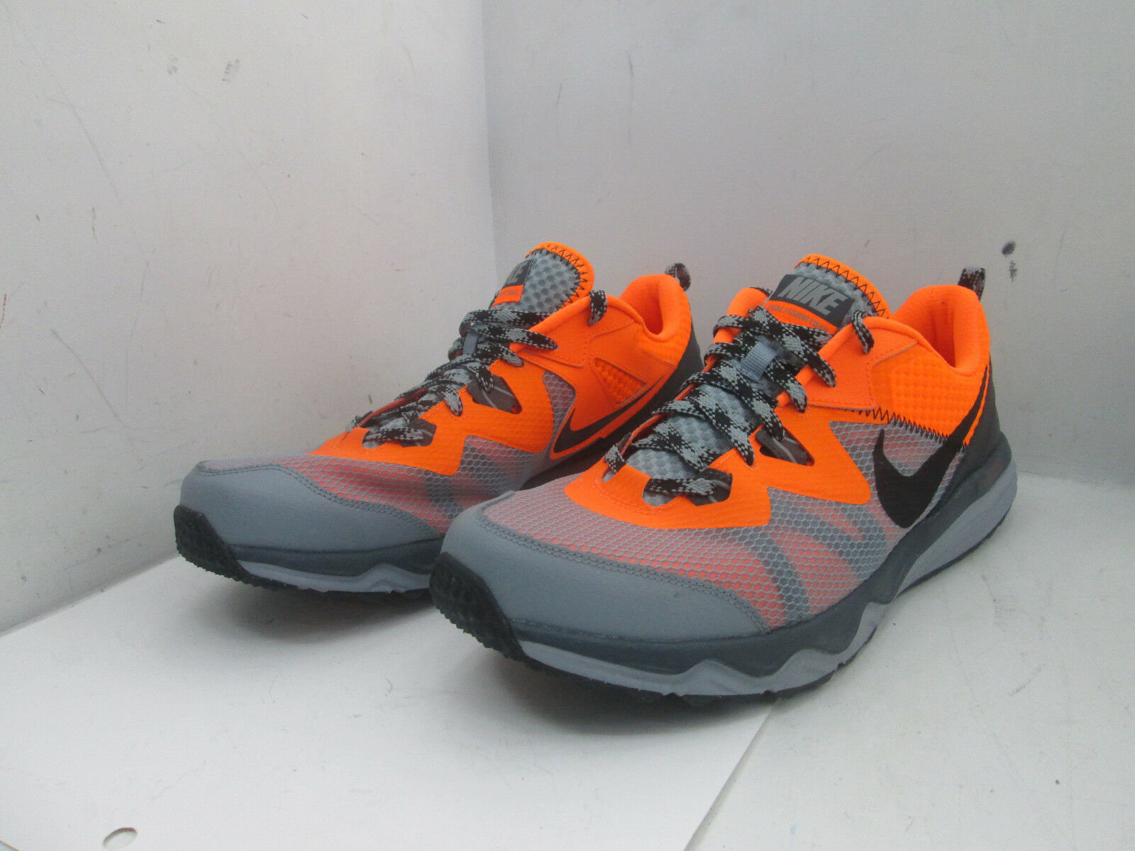 Nike Dual Fusion Trail Shoes 652867-011 Sz. 14