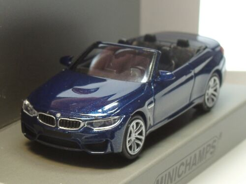 870 027232-1:87 blau metallic Minichamps BMW M4 Cabrio 2015