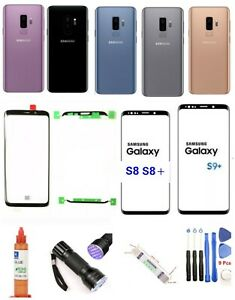 Samsung-Galaxy-S8-8-S9-Plus-Front-Screen-Glass-Lens-Replacement-Back-Glass-Kit