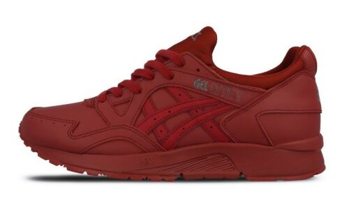 V H6r3l Gel Trainers 2626 Lyte Burgundy Casual Lace Up Asics Leather wt7AEt