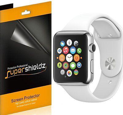 6X Supershieldz HD Clear Screen Protector Film For Apple Watch 42mm / Sport 42mm